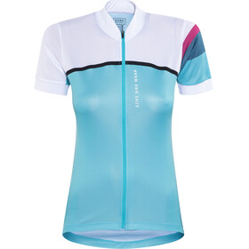 GORE BIKE WEAR Power CC - Maillot manches courtes Femme - turquoise